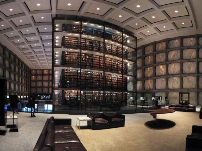 کتابخانه ی نیوهیون در ایالات متحده آمریکا