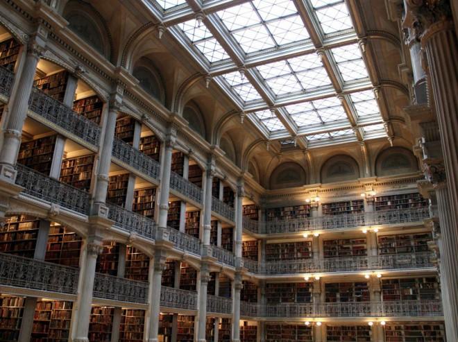کتابخانه جورج پی بادی در مریلند امریکا