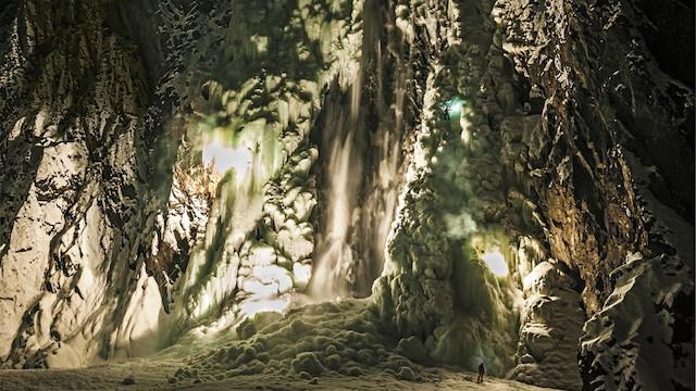 نور یخ زده/ توماس سنف