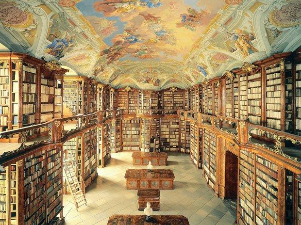 کتابخانه اَدمونت در اتریش