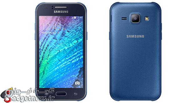 تلفن ارزان قیمت Galaxy J1 معرفی شد : اولین گوشی از سری J سامسونگ
