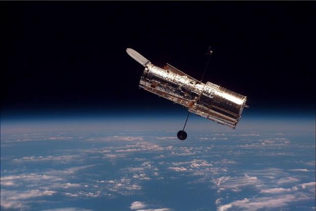 تصویر گرفته شده از تلسکوپ هابل، توسط شاتل استیاس-۸۲ در هنگام ماموریت دومش