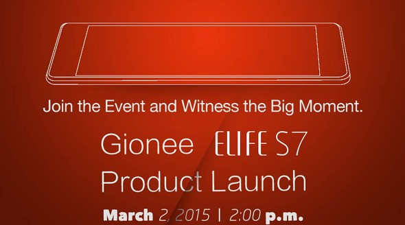 Gionee Elife S7 1