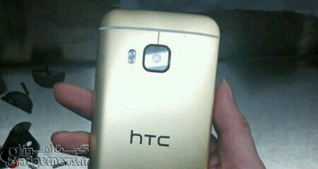 تصاویری از نسخه طلایی رنگ HTC One M9 لو رفت