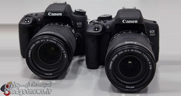 معرفی EOS 750d و EOS 760d دو عضو جدید خانواده دوربین های DSLR سطح مبتدی Canon