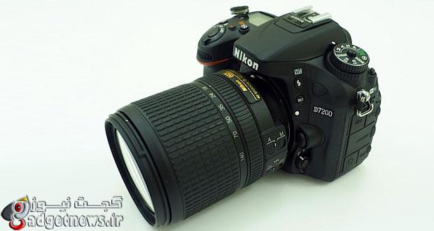 نگاهی نزدیک به دوربین Nikon D7200