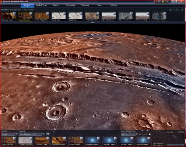 سفر به اعماق کهکشان ها با نرم افزار تلسکوپ مجازی Microsoft WorldWide Telescope + دانلود
