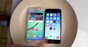 Galaxy S6 vs iPhone 6 hot water test
