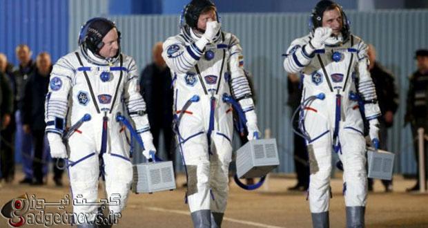 آغاز طولانی ترین مسافرت فضایی توسط دو فضانورد آمریکایی و روس