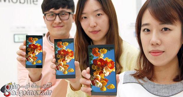 ال جی از نسل جدید صفحه نمایش مخصوص موبایل خود در G4 استفاده کرده است