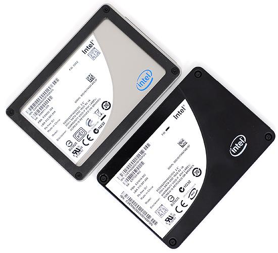 نسل اول و دوم درایو های حالت جامد (SSD) اینتل X25-M با اتصال SATA