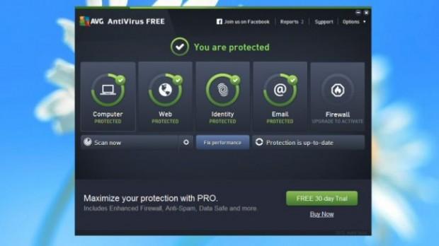 ۳- AVG Antivirus Free
