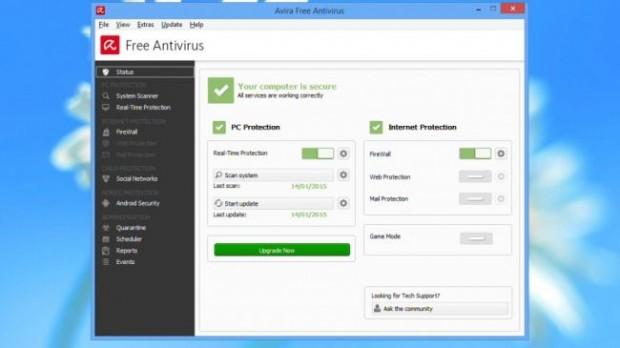 ۴- Avira Free Antivirus