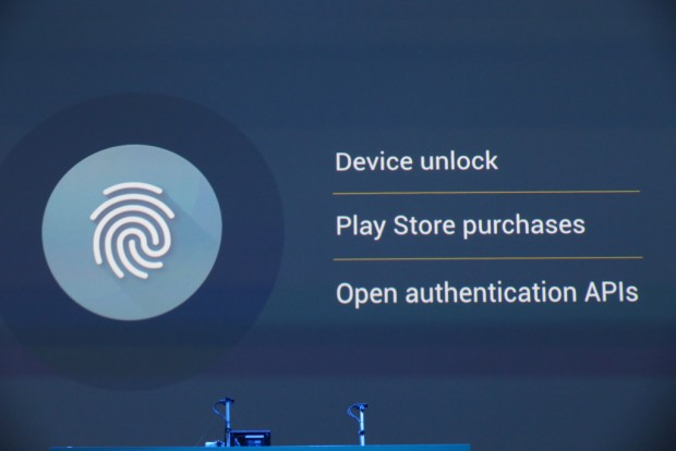 android m fingerprint scanning
