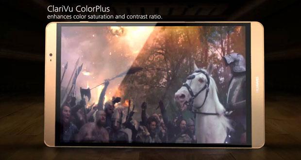 نگاهی به ویژگی های جدید تبلت هواوی MediaPad M2 در یک ویدیوی تبلیغاتی
