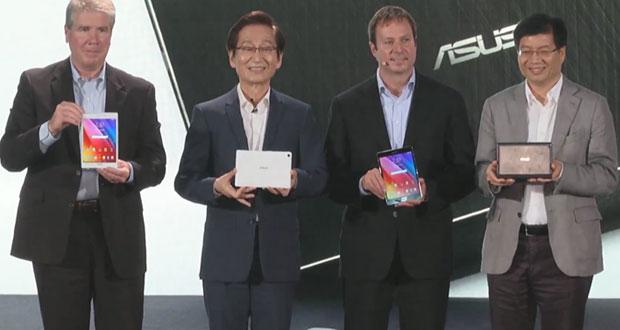 ایسوس و رونمایی از ۴ تبلت جدید از سری ZenPad