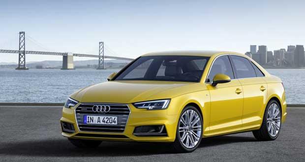 آئودی از مدل جدید ۲۰۱۶ Audi A4 رونمایی کرد