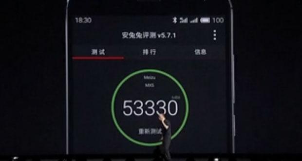 گوشی میزو MX5 موفق به کسب امتیاز ۵۳.۳۳۰ در بنچمارک انتوتو شد
