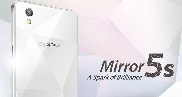 اسمارت فون میان رده Oppo Mirror 5s رسما معرفی شد