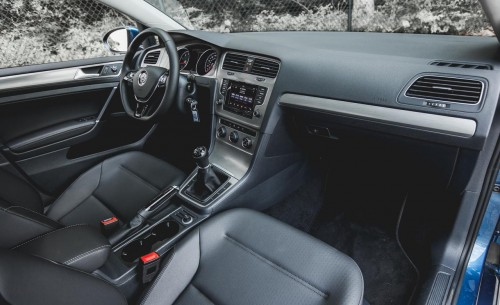 2015 Volkswagen Golf TSI Interior