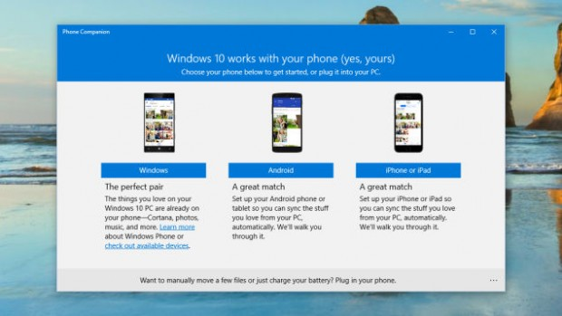 Set up Windows to work with iOS and Android