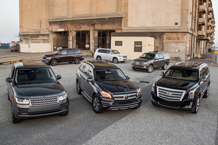 Large Luxury SUVs