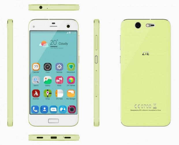ZTE Blade S7 1 620x500 گوشی ZTE Blade S7 میان رده چینی معرفی شد