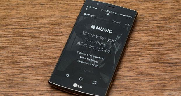 نسخه اندروید اپل موزیک منتشر شد