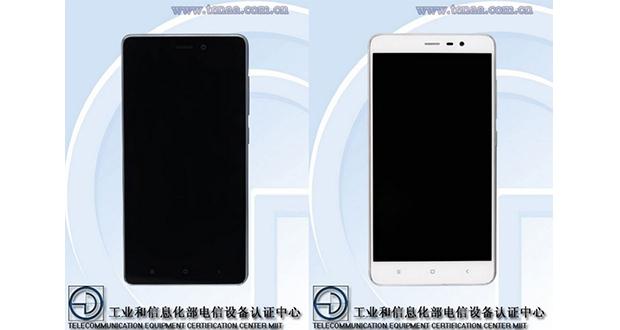 انتشار تصاویر و مشخصات دو گوشی جدید از شیائومی