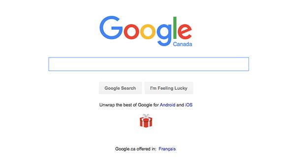 گوگل در صفحهی خود، اپلیکیشنهای معروف اندروید و ios را تبلیغ میکند
