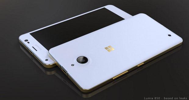 رندر های جدید مایکروسافت لومیا ۸۵۰، نشان از یک گوشی پر زرق و برق دارد