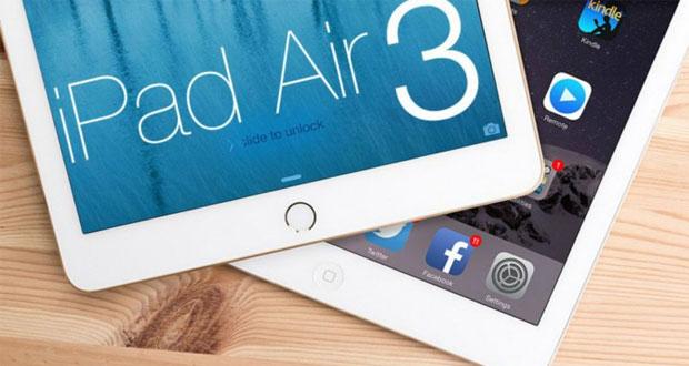 آیپد ایر ۳ در نیمه اول سال ۲۰۱۶ و بدون فناوری ۳D Touch معرفی خواهد شد