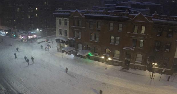 طوفان برفی جوناس را در این ویدیوی ۹۰ ثانیهای تماشا کنید