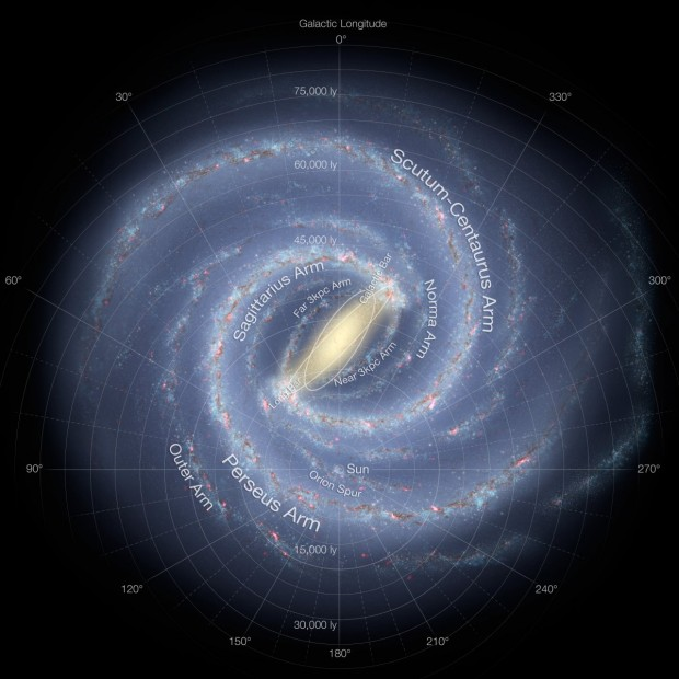 ۱۰-not-as-big-as-our-home-galaxy-the-milky-way
