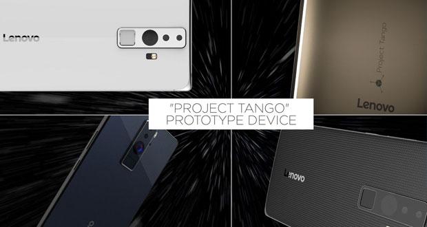 لنوو اولین موبایل با پشتیبانی از پروژه ی تانگو را معرفی خواهد کرد