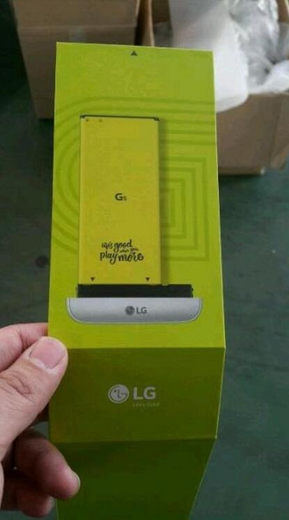 باتری قابل تعویض الجی جی ۵ در عکسی نشان داده شد