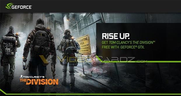 باندل جدید کارت گرافیک GeForce به همراه بازی The Division