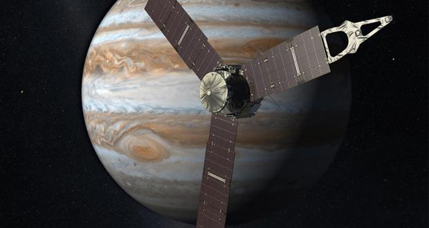 تکمیل مانور فضاپیمای ناسا در اطراف سیاره مشتری