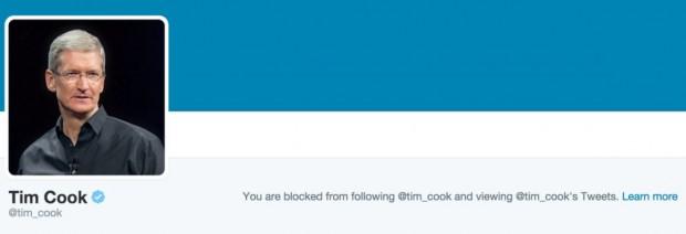 خشم تیم کوک؛ کاربرانی که عکس او را در توییتر مسخره کرده بودند مسدود شدند ۳