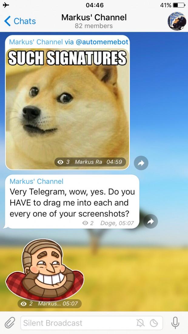 دانلود نسخه جدید اپلیکیشن تلگرام، Telegram 3.6.1 و معرفی تمامی تغییرات آپدیت جدید ۴