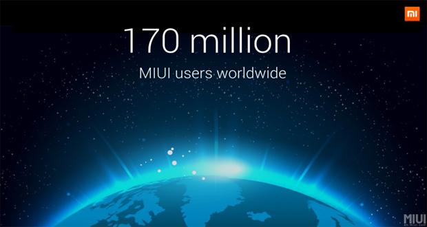 شیائومی: بیش از ۱۷۰ میلیون کاربر در جهان از رابط کاربری MIUI استفاده میکنند