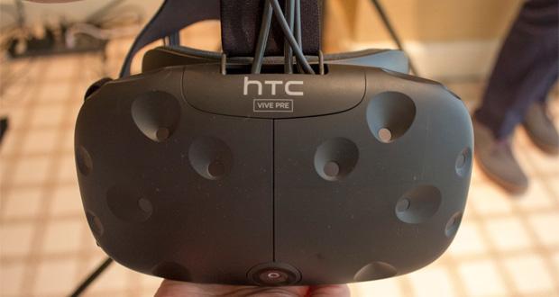 هدست واقعیت مجازی HTC Vive از امروز در اروپا به قیمت ۸۹۹ یورو پیشفروش میشود