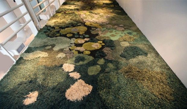 Carpets in the form of green nature (1)