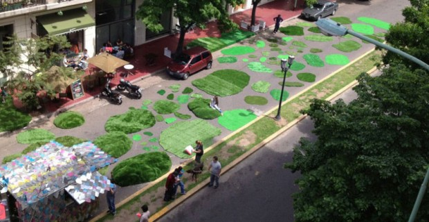 Carpets in the form of green nature (2)