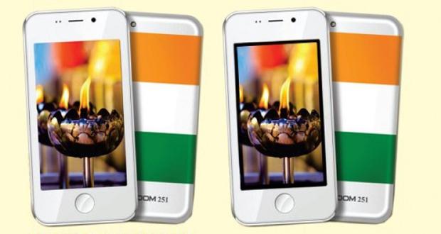 ارزان ترین گوشی هوشمند جهان معرفی شد: Freedom 251، فقط ۴ دلار قیمت دارد !