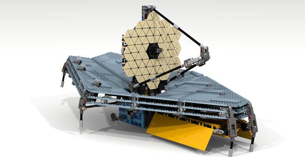 مراحل ساخت تلسکوپ فضایی جیمز وب رو به اتمام است
