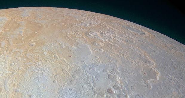 تصاویر جدید فضاپیمای نیوهورایزنز از دره های عمیق و یخ زده قطب شمال پلوتو