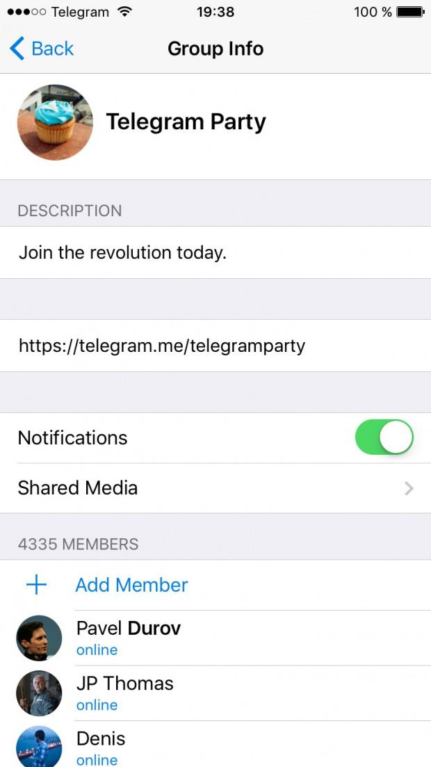 دانلود نسخه جدید اپلیکیشن تلگرام، Telegram 3.7.0 و معرفی تمامی تغییرات آپدیت جدید ۲
