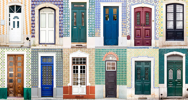 عکاسی که با سفر به دور دنیا زیباترین در و پنجرهها را به تصویر کشیده است