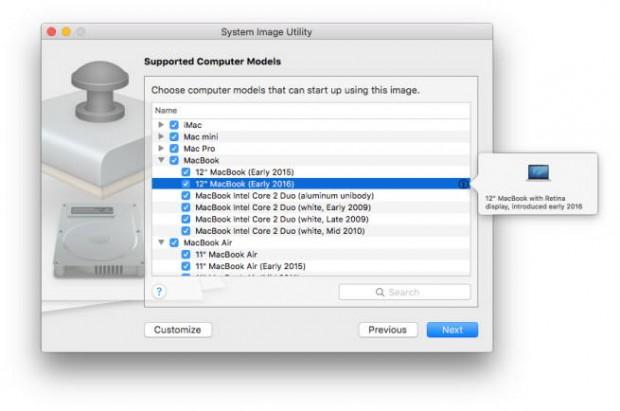 مدرکی جدید از مکبوک ۱۲ اینچی مدل ۲۰۱۶ در آخرین بروزرسانی OS X Server